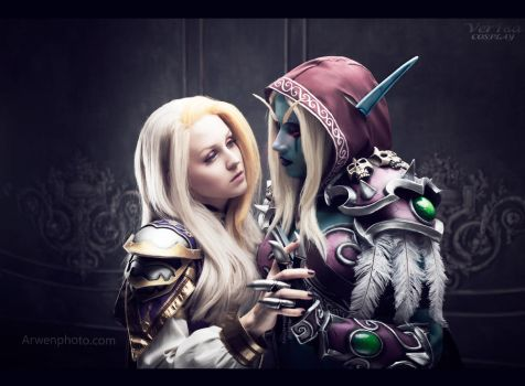 Sylvanas Windrunner and Jaina Proudmoore (WoW) by ver1sa