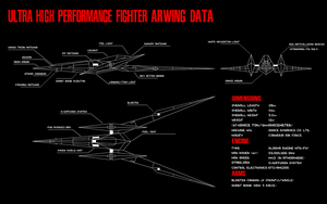 Ultra High Performance Fighter Arwing Data by Doctor-G