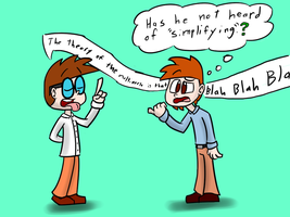 2 Kinds of Nerds by The-One-Aardvark