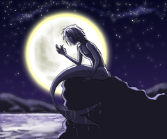 Moonlight merboy... by Lizzy23