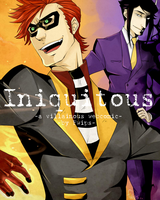 Iniquitous. cover art by Axis33