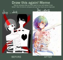 Draw It Again meme by Alie-Reol
