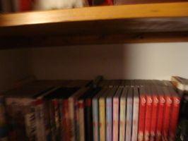 my mangas and anime dvds by inupuppy1412