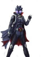Kamen Rider Soul - Phantom Form by HeatnixRider