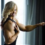 Muscled blonde relaxed by Turbo99