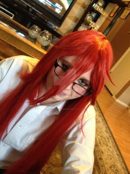 Grell Sutcliff Cosplay by CosplayerKate13