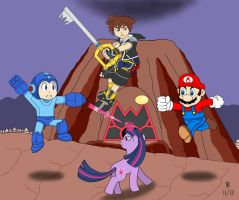Super Smash Bros. deviantART Bait by JazzyTyfighter