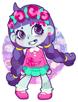 Little Zombie Rose by Miss-Glitter