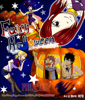Fairy Tail , Halloween by icecream80810