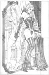 black queen and white queen by petervale