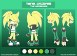 // Taiya the Hedgehog // 2014 // by nakklesart