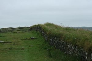 Hadrian's Wall by RaeyenIrael-Stock