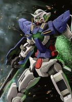 Gundam Exia by GN-SHAK