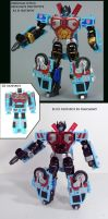 R.I.D Hotspot and Defensor by Unicron9