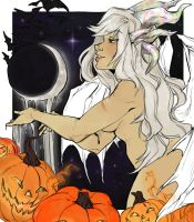 Opalescent Halloween by Marxis