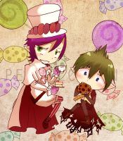 mephisto n amaimon by StellaHappyGirl