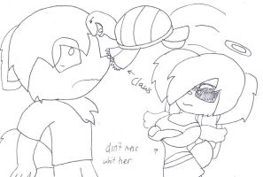 GIFT dont mest whit her by cupcakecat123123