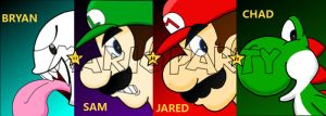 Mario Party 5 Afterdark banner by Retro-Eternity