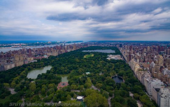 Cantral Park via drone by smitht2ncc1701