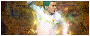 - David villa - by kingsol04
