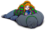 Vivan and her Sea Lion by ashion