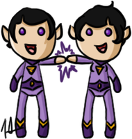 DC - Wonder Twins by shrimp-pops