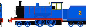 Edward (Front View) (Updated) by steamdiesel