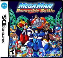 MegaMan: Scramble Battle by MegaMac