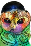Owl by MortisQueen