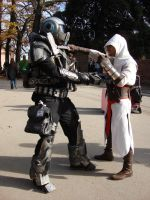 Assassin's Creed - GoW by darksidecry