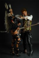 Fran and Balthier by Ivycosplay