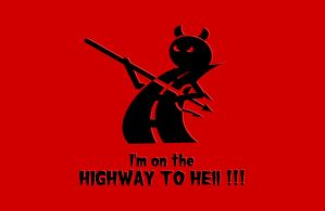 Highway to Hell Logo by playground011