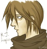 Remus Lupin -colored version- by masao