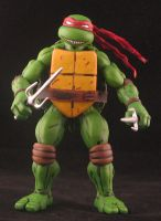 Kevin Eastman current style Raphael by plasticplayhouse