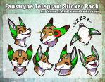 Faustryne Telegrm Sticker Pack by Temrin