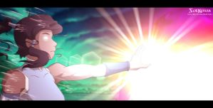 Korra Opening The Notherm Portal by SolKorra