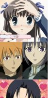 Pregnancy Test Meme(Fruits Basket version) by YeahFrenchToast