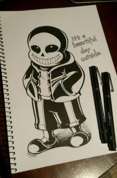 Sans the Skeleton by TheRogueDeity