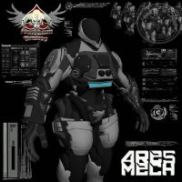 Sedition Ares Mech - WIP by mestophales