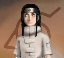 Genin Neji by low-pony-tail