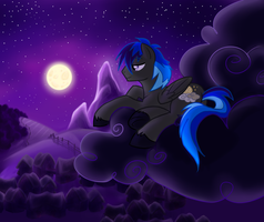 Moonlit View by VertreV