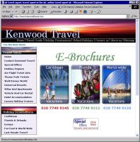 Kenwood Travel Site by infodesh