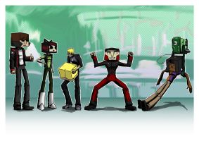 Motorcity blockheads by pgeronimos