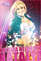Natalya Neidhart Artwork - WWE by roXx81