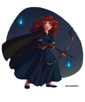 Princess Merida by HollyBell