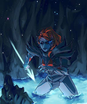 Undyne The Undying by Kuzmich-Isterich