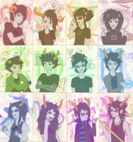 Homestuck Gender Bent by Ami-Magane