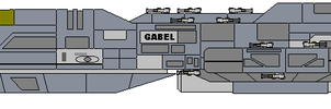Cruiser Gabel, CG-57 by fongsaunder