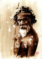 David Gulpilil by lloyd-art