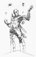 Deadpool:Sketch by dwinbotp